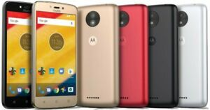 "Motorola Moto C 8GB 5"" GPS 5MP Android 7 Unlocked Smartphone UK mix GRADE"