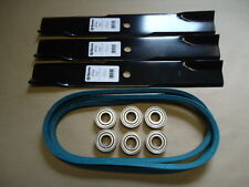 """Deck Kit Bearings Blades Belt John Deere 50"""" mower 300 316 317 318 322 332 330"""