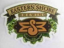 EASTERN SHORE BREWING TASTING ROOM Beer STICKER, Label, Saint Michaels MARYLAND
