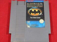 BATMAN NINTENDO NES BATMAN THE VIDEO GAME NES
