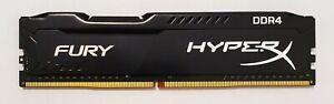 HyperX FURY 4gb ddr4 2400mhz pc4-19200 Desktop Gaming RAM Arbeitsspeicher Kingston schwarz