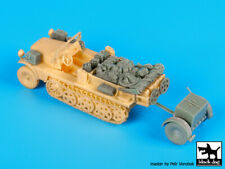 Sd.Kfz. 10 with Sd.Ah. 32 accessories set cat.n.: T72080 , BLACK DOG, 1:72