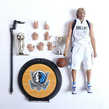 1:6 Scale Real Masterpiece NBA Dirk Nowitzki Action Figure Full Set New In Box