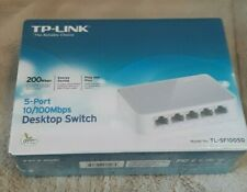 TP-LINK 5-Port Fast Ethernet 10/100Mbps Desktop Switch TL-SF1005D New