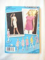 Vtg 2008 Project Runway Sewing Pattern Dress / Tunic Size 12-14-16-18-20