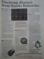 4/1970 smiths pub electronic displays aviation hanover air show original ad