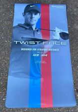 """Life Size RORY McILROY PGA Golf Taylor Made Twist Face Magnet Back Poster 47"""""""