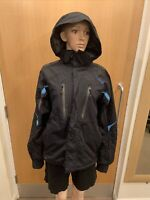 Dare 2 Be Black Hooded Thick Jacket - UK Ladies Size S