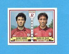 figurina con velina 1991-92 Serie B REGGIANA TARANTO Calciatori Panini SCEGLI