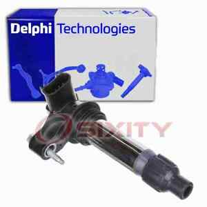Delphi Ignition Coil for 2007-2010 Saturn Outlook 3.6L V6 Wire Boot Spark fs