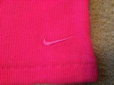 Womens NIKE Club Rib Tank Top Vest Running Casual Gym Yoga Pink RRP£29.99