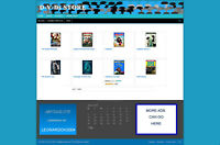 DVDs STORE & UK AFFILIATE WEBSITE + FREE HOSTING & NEW DOMAIN - BLOG PAGES