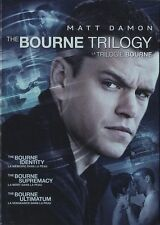 The Bourne Trilogy (DVD, 2016, 3-Disc Set, Canadian) BRAND NEW