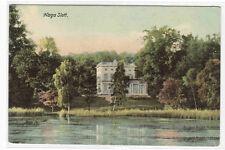 Haga Slott Palace Queen's Pavilion Stockholm Sweden 1908 postcard