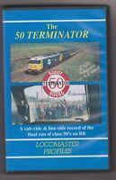 The 50 Terminator (VHS) Railway Video ~ Locomaster Profiles ~ Class 50 Video
