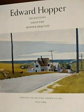 Edward Hopper: Selections from the Hopper Bequest to the Whitney Museum ...