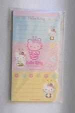 Sanrio Hello Kitty Bee 40 Sheet 3 Part Notepad 1999 Mint