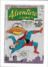 "ADVENTURE COMICS #264 [1959 GD] ""THE HELPLESS HERO!""  FLYING SAUCER CO"