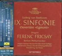 Beethoven Symphony No. 9 Ferenc Fricsay Japan SACD w/OBI NEW/SEALED
