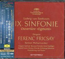 Beethoven Symphony No. 9 Ferenc Fricsay Japan SACD w/OBI NEW/SEALED