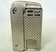 Vintage Regens Squeeze Lighter  Block Pattern Patent # 1896140