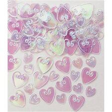 Confettis de table coeurs irisées Sachet de 14 gr pacs Mariage fetes [3677815]