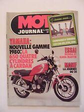 Moto Journal Novembre 1979 N°432 Yamaha 650 250 CAN AM KTM SWM