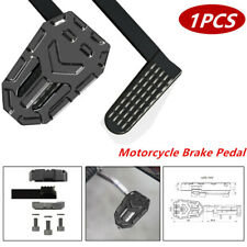 Widening Non-slip Footrests Brake Pedal for Motorcycle Bike Aluminum Accessories