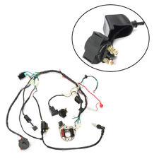 50 70 90 110 125CC Mini ATV Complete Wiring Harness CDI STATOR Ignition Pretty