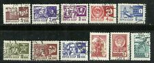 World Wide stamps from The Soviet Union(U.S.S.R.) - group of 11 issues