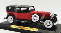 Auto D'elite 1/43 Scale AD15618F - 1935 Duesenberg J Berline - Red/Black