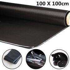 """3K 200gsm 100x100cm High Strength Carbon Fiber Cloth For Interlayer 40"""" Decor"""