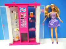 Barbie Doll with 2012 Snack Dispenser and Accessories