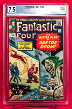 FANTASTIC FOUR #23 (Marvel 1964) PGX 7.5 VF- Very Fine Minus DOOM!!! +CGC!!!