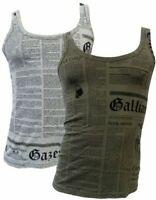 Tank Top Tank Top Shirt John Galliano with Print with Print Man without Manic