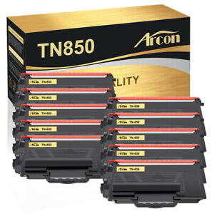 10 PACK TN850 Toner Cartridge For Brother DCP-L5600DN HL-L6200DW MFC-L5800DW