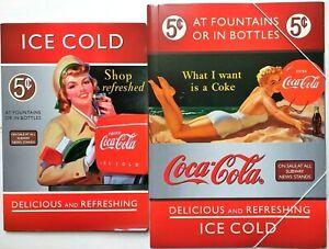Quaderno + Camicia Documento Coca Cola Pin Up