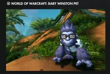 Overwatch Origins: Digital Goodies (World of Warcraft Baby Winston Pet)
