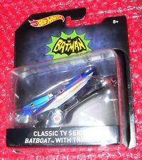 Hot Wheels Batman Classic TV Series Batboat with trailer   DKL25-0910