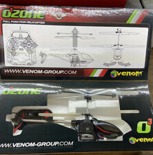 Venom Ozone RTF Helicopter 3 CH VENF-6203 27 MHz Open Box