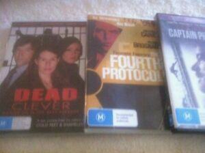 DVDS X 3..DRAMA..CAPTAIN PHILLIPS / FOURTH PROTOCOL / DEAD CLEVER