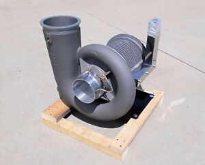TNE M3A-05-R-4XHVL Compact Turbo Blower & Motor, Scroll R41H-M3-A Type #1