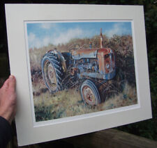 Fordson New Performance Major Tractor, 1964 - signed art print by Steven Binks