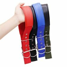 Large Dog Collar Soft Leather Lining Adjustable Collar For Dogs Leash For Dogs