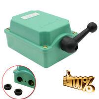 1PCS 60A 0-380V Drum Switch Forward/Off/Reverse RainProof Motor Control HOT SALE