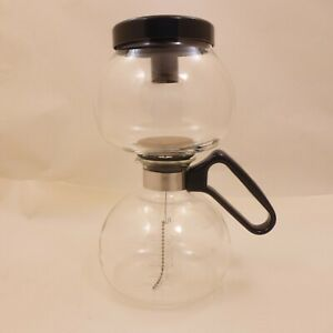 Yama SY-8 Glass 8-Cup Stovetop Siphon Coffee Maker Vacuum Pot Hand-Blown
