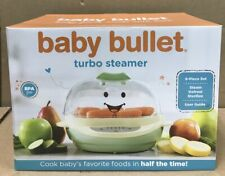 Magic Bullet Baby Bullet Turbo Food Steamer 8 Piece Set (BRAND NEW IN BOX)