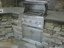 Lazy Man Barbecue - Three Broiler Burners - Built in Grill � Propane Model