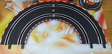 61603 Carrera Go!!! / Digital 143 - 2 x Kurve 1/90° - Auto Rennbahn Schienen