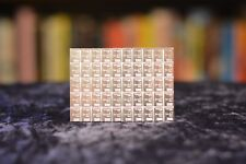 FIFTY(50) Valcambi Suisse ONE(1) Gram .999 Silver Bullion CombiBar™